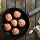 raw meatballs - PhotoDune Item for Sale