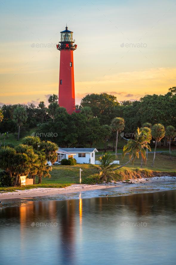 Jupiter, Florida, USA - Stock Photo - Images