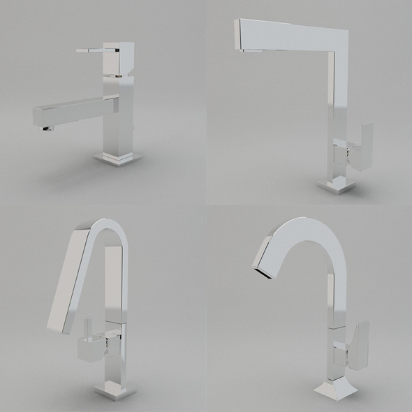 Faucet Collection Vol.2 - 3DOcean Item for Sale