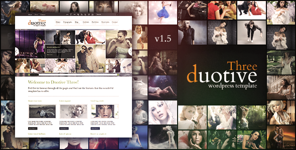 Duotive Three – Complete WordPress Template