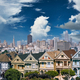 Victorian style homes in San Francisco - PhotoDune Item for Sale