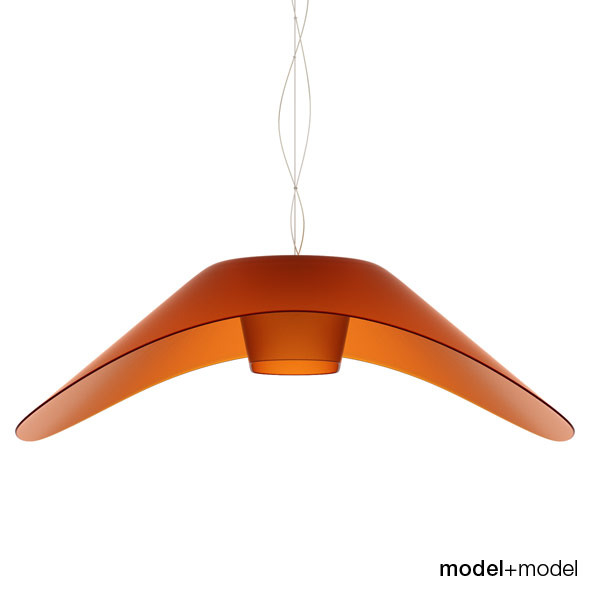 Foscarini Fly-Fly suspension lamp - 3DOcean Item for Sale