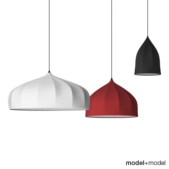 Moooi Dome suspension lamps - 3DOcean Item for Sale