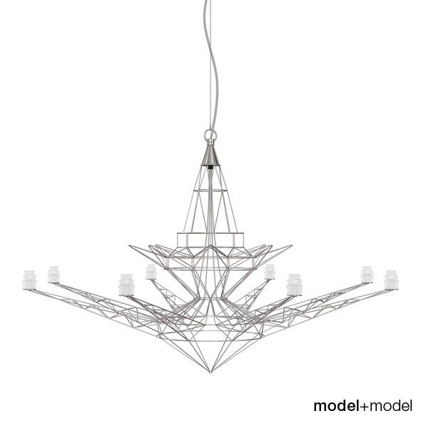 Foscarini Lightweight suspension lamp - 3DOcean Item for Sale