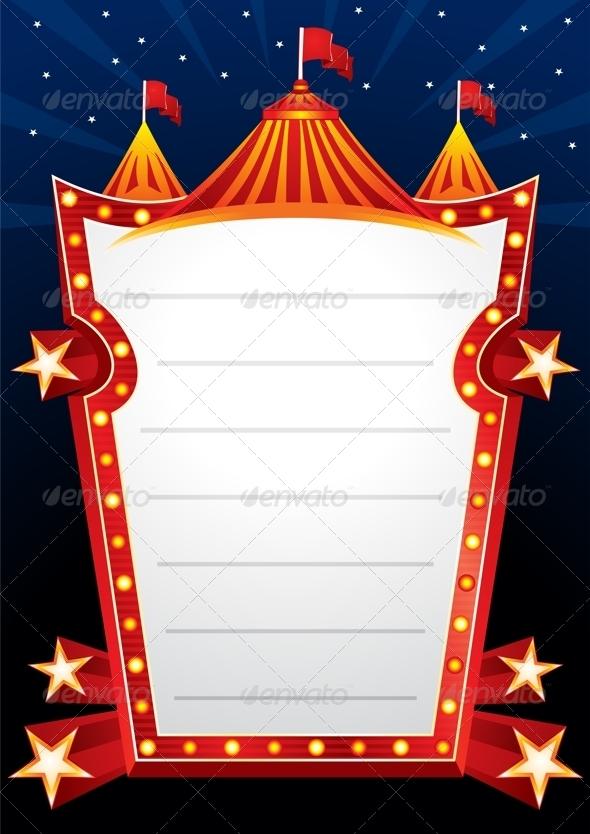 Circus Design - Borders Decorative