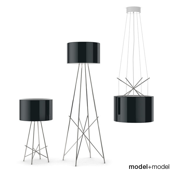 Flos Ray lamps - 3DOcean Item for Sale