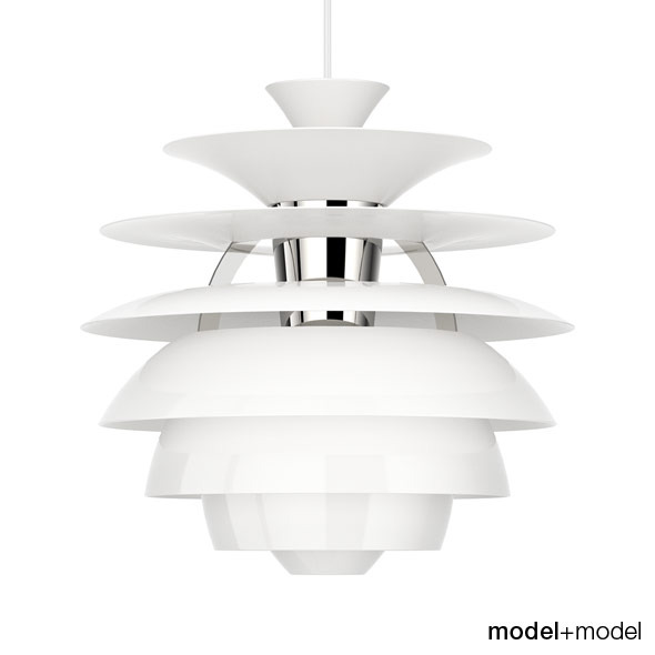 Louis Poulsen PH Snowball suspension lamp - 3DOcean Item for Sale