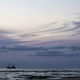 fishing ship in sea and sunset sky - PhotoDune Item for Sale