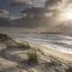 beautiful sun light over North sea coast - PhotoDune Item for Sale