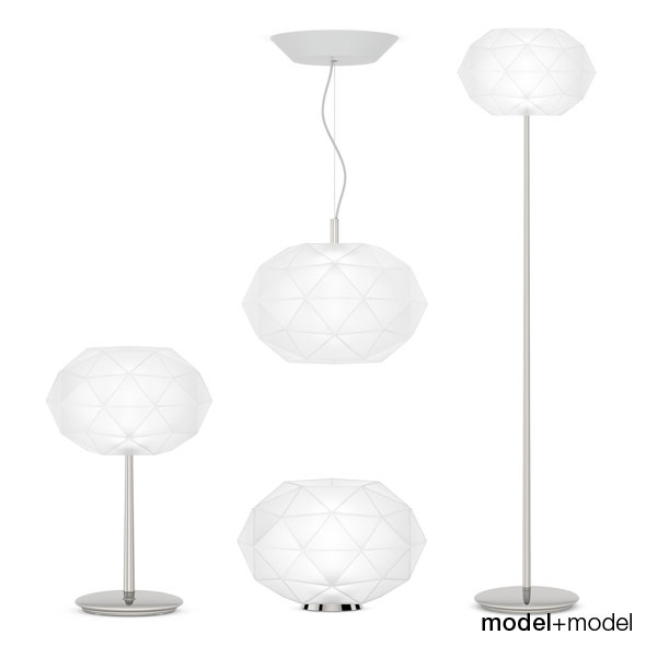Artemide Soffione lamps - 3DOcean Item for Sale