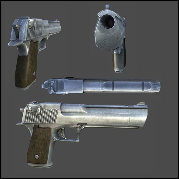 Desert Eagle - 3DOcean Item for Sale