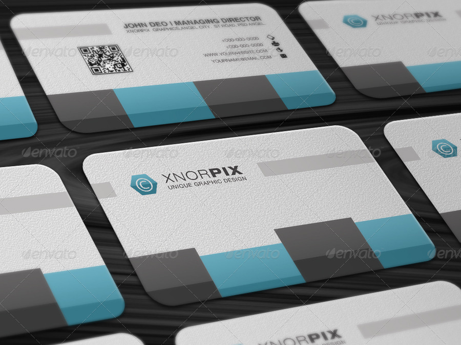 Global Business Card by -axnorpix | GraphicRiver