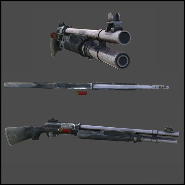 Benelli Nova Pump Tactical - 3DOcean Item for Sale