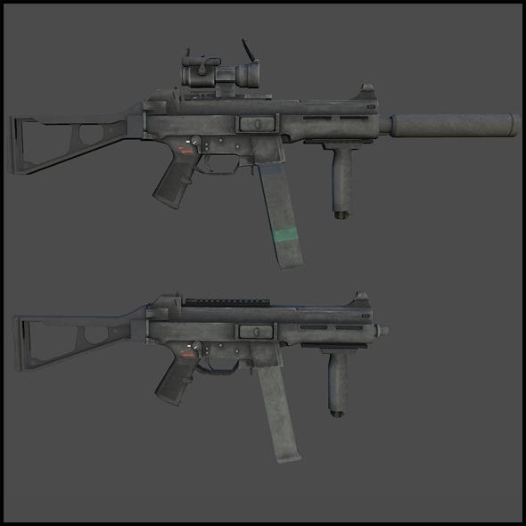 H&K UMP 45 - 3DOcean Item for Sale