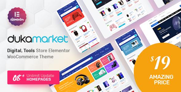 DukaMarket – Multipurpose WordPress Theme