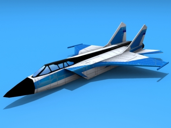 Mig-31 Foxhound - 3DOcean Item for Sale