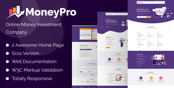 Exceptional MoneyPro - Hyip Investment Template