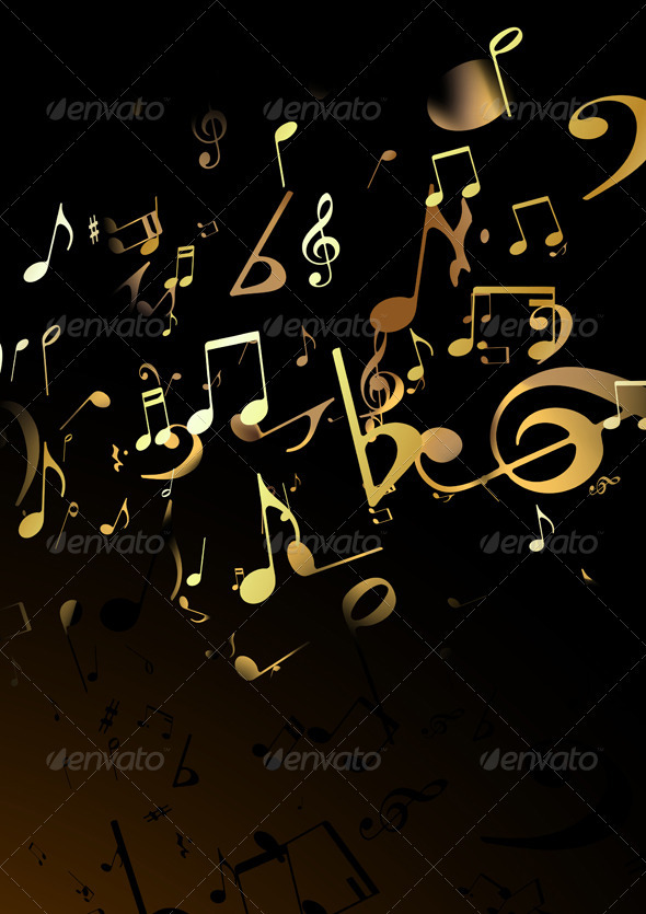 Music Abstract background - Backgrounds Decorative