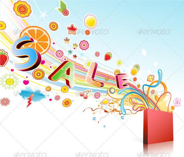 Sale concept - Commercial / Shopping Conceptual