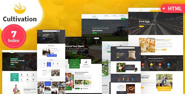 Super Cultivation Multipurpose Responsive HTML Template