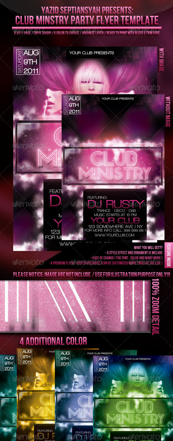 Club Ministry - Clubs & Parties Events