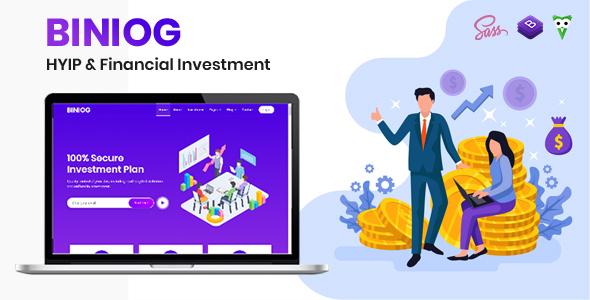 Biniog - HYIP Investment Template