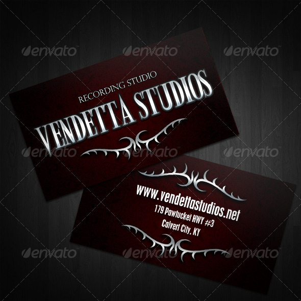 Dethroned Business Cards  - Corporate Business Cards