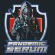Pandemic Serum Mascot Logo