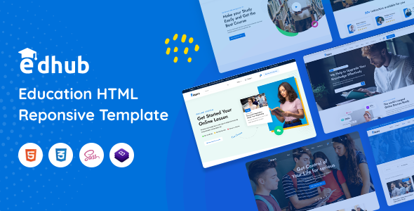 Edhub - Education HTML Template