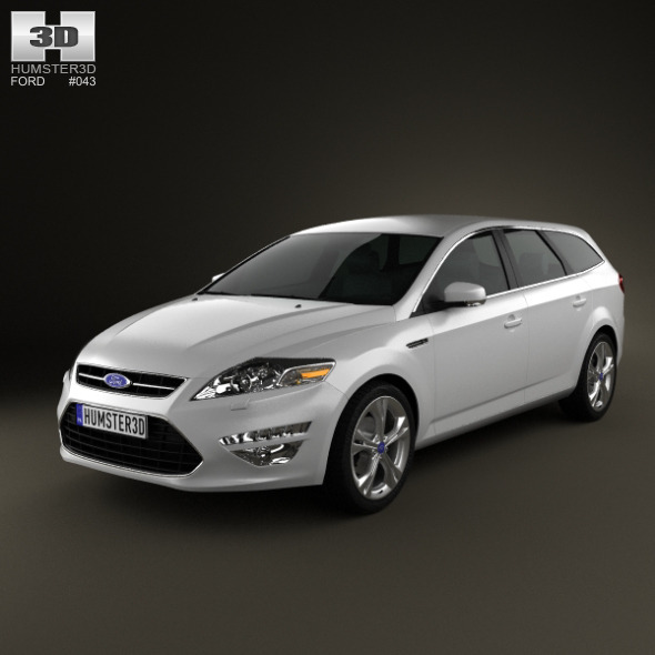 Ford Mondeo wagon Mk4 2011 - 3DOcean Item for Sale