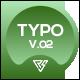 Typography Slide - Clean Media Zone V.02 - VideoHive Item for Sale