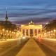 The famous Brandenburger Tor in Berlin at twilight - PhotoDune Item for Sale