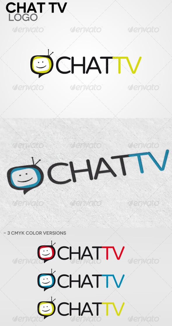 Chat Tv Logo - Humans Logo Templates