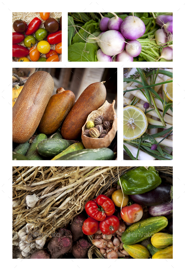Healthy ingredients and vegetables - Stock Photo - Images