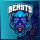 Gorilla Apes Beast - Mascot Esport Logo Template