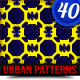 40 Most Attractive Urban Patterns (Also Great For) - GraphicRiver Item for Sale