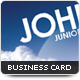 Sky Business Card - GraphicRiver Item for Sale