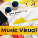 Beach Music and Podcast Visualizer 3D - VideoHive Item for Sale
