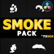 Cartoon Smoke Elements | DaVinci Resolve - VideoHive Item for Sale