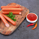 Fresh sausages with parsley - PhotoDune Item for Sale