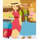 Good Summer Mood Family Travel