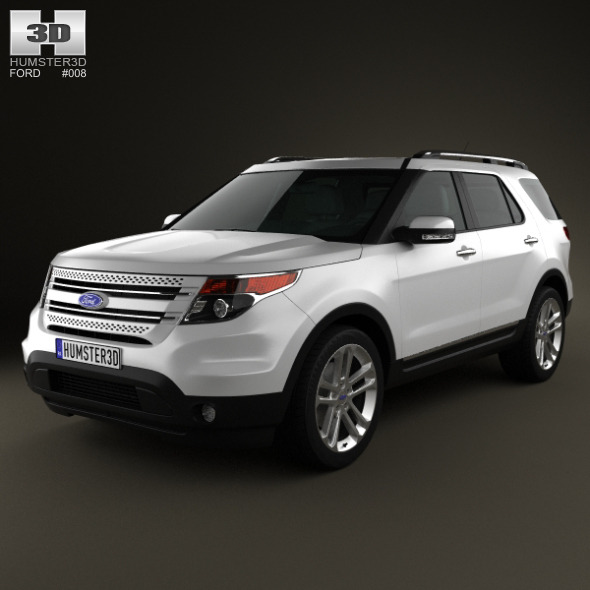 Ford Explorer 2011 - 3DOcean Item for Sale