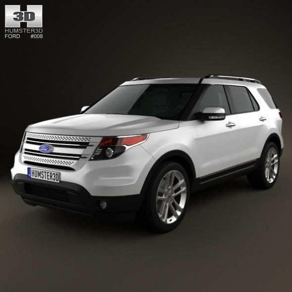 Ford Explorer 2011 - 3DOcean Item for Sale
