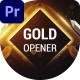 Gold Awards Opener - VideoHive Item for Sale