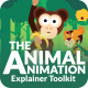Animal Character Animation Explainer Toolkit - VideoHive Item for Sale