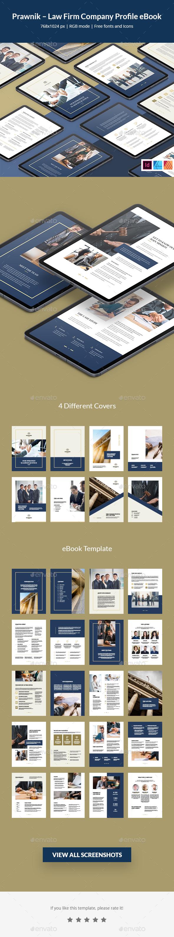 Prawnik – Law Firm Company Profile eBook