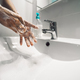 Female washing hands with liquid soap for preventing and stop corona virus spreading - PhotoDune Item for Sale