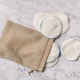 Eco friendly reusable make-up remover pads in a bag - PhotoDune Item for Sale