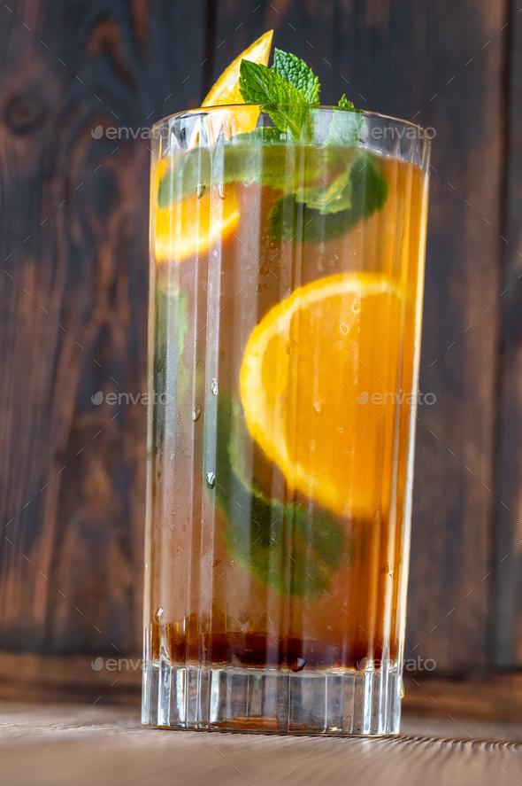 Dutch Orange Cup cocktail - Stock Photo - Images