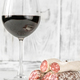 Glass of wine with fuet - PhotoDune Item for Sale